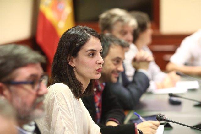 Rita Maestre en el Congreso