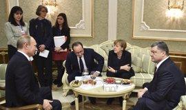 Rusia ve posible reunir la próxima semana al Cuarteto de Normandía para hablar de Ucrania