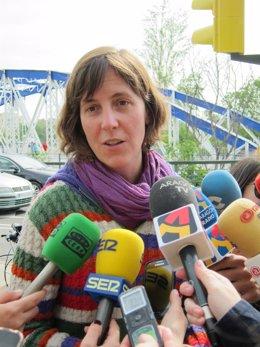 La concejal de Movilidad y Medio Ambiente, Teresa Artigas