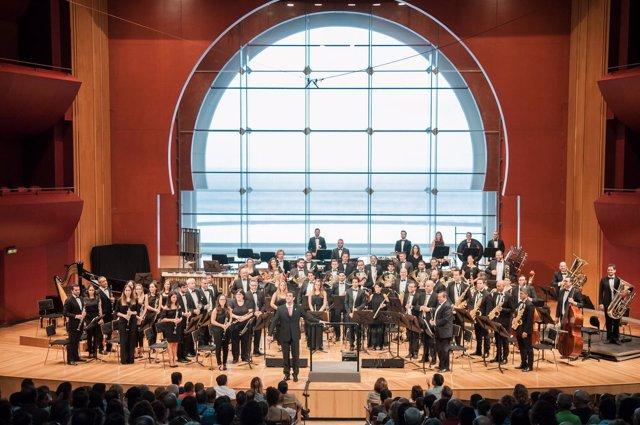 COMUNICADO Y FOTOS: La Gran Canaria Wind Orchestra Cierra Con Aclamación Su Segu