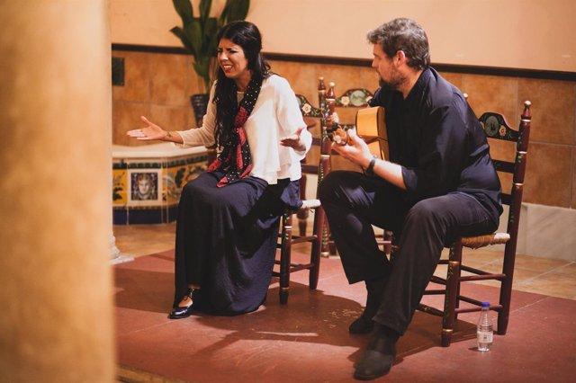 Cristina Solar, artista de flamenco.