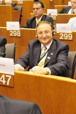 El presidente de la Cámara de Comercio, José María Ruiz-Alejos, en Bruselas