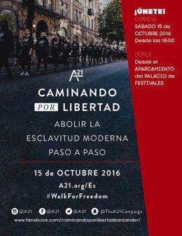 Nota De Prensa Marcha Contra La Trata De Seres Humanos 15 Octubre