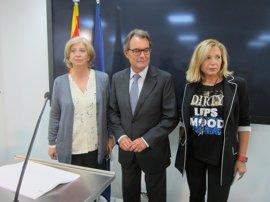 """El Govern ve """"fobia"""" del Estado a la democracia y deplora el juicio a Mas, Ortega y Rigau"""
