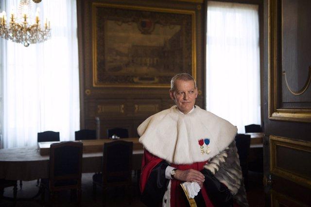 El presidente del Tribunal de Casación de Francia.