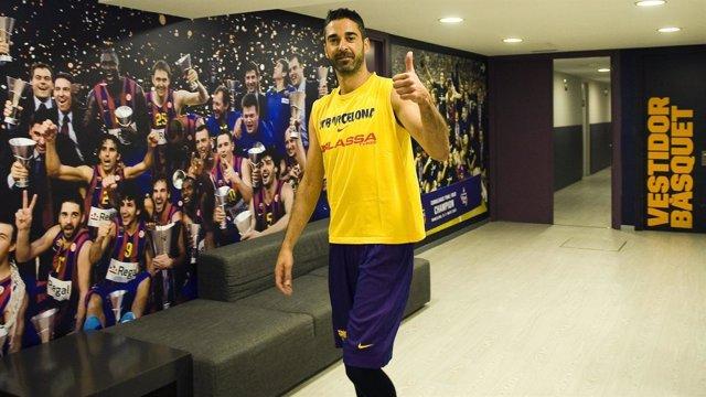 Juan Carlos Navarro vuelve al Barcelona
