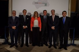 Europa Press celebra 25 años en Andalucía junto a representantes políticos y sociales