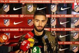 """Carrasco: """"Ojalá pueda estar más que hasta 2020 en el Atlético"""""""