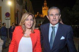 """Susana Díaz aboga por """"responsabilidad y ética"""" en la política y los medios"""