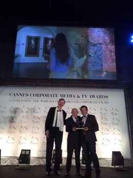 Un vídeo del Museo Alma Mater de Zaragoza, galardonado en Cannes