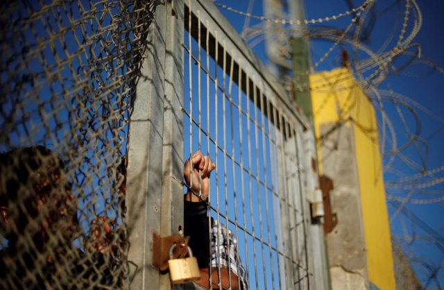 Paso fronterizo de Rafá, límite entre la Franja de Gaza y Egipto