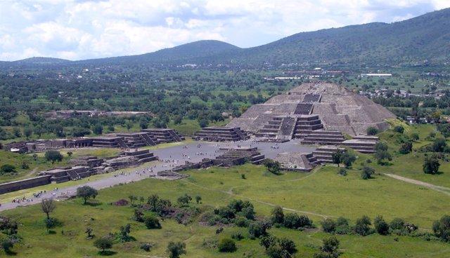 Luna de Sol, Teotihuacan