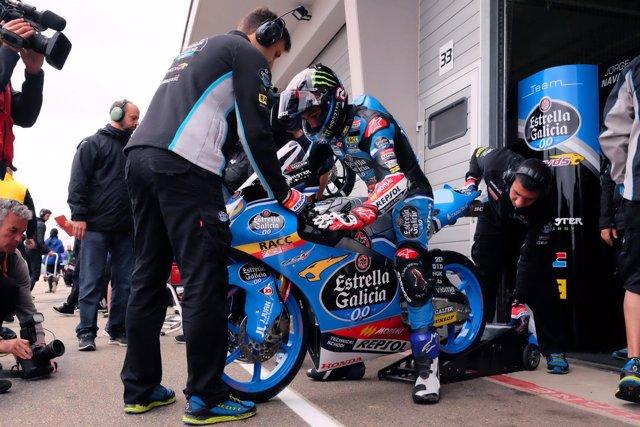 Jorge Navarro en el GP Alemania