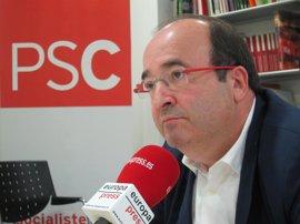 """Iceta dice que apoyará el suplicatorio a Homs y ve """"preocupante"""" la reacción de Puidgemont"""