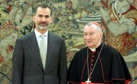 """Parolin sobre una visita del Papa a España: """"Todavía no está previsto pero todo es posible para los que tienen fe"""""""