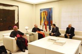 """El Vaticano traslada a Rajoy su deseo de que se forme Gobierno en España """"pronto"""""""