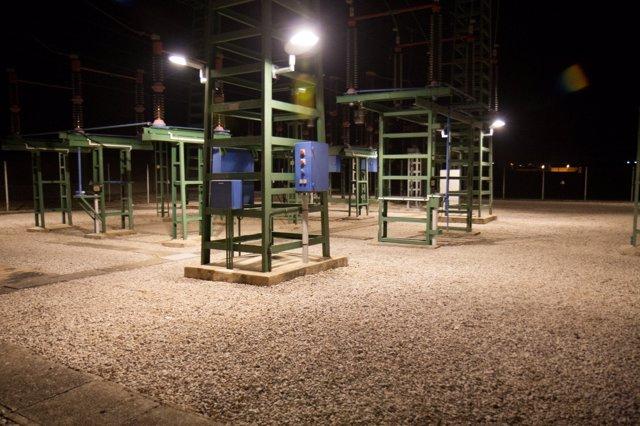 Subestación de Endesa en Figueres