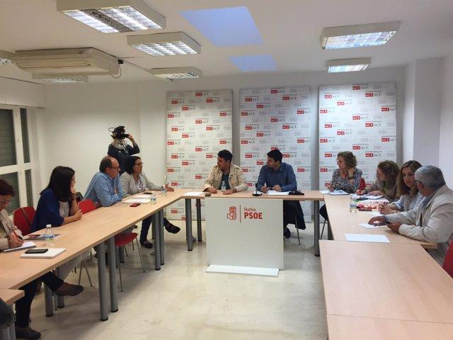 Reunión interparlamentaria del PSOE de Huelva