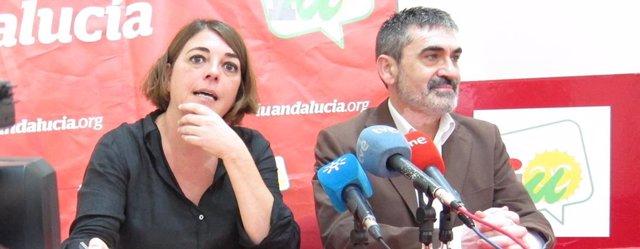 Cortés y Villa en la rueda de prensa