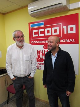 Xosé Manuel Sánchez Aguión y Luís Villares