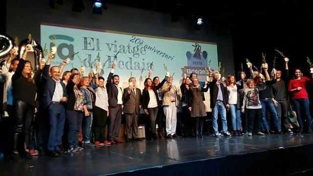 Celebración del 20 aniversario de Fedaia