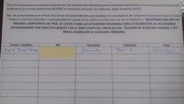 Pérez Tapias se suma a la propuesta del alcalde de Jun por un congreso urgente del PSOE