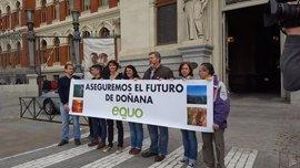 Equo reclama al Gobierno un plan para proteger y conservar Doñana de aquí a 2050