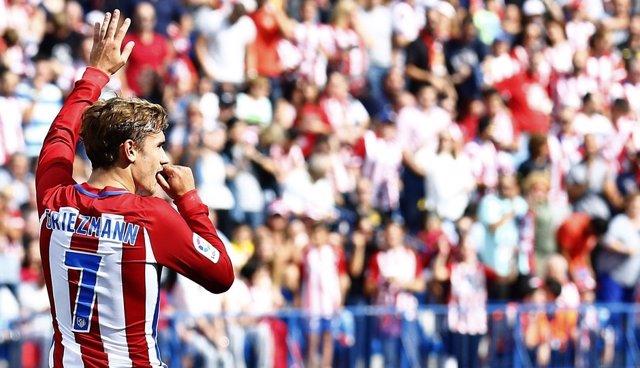 Celebración Griezmann (Atlético de Madrid)