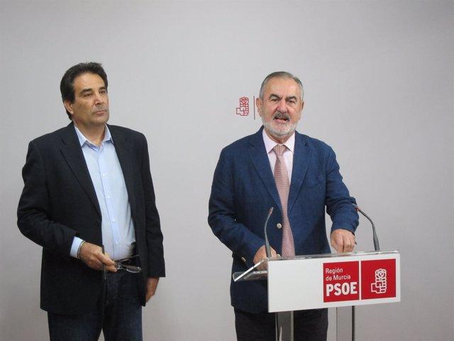 Rafael González Tovar y Antonio Guillamón, durante la rueda de prensa