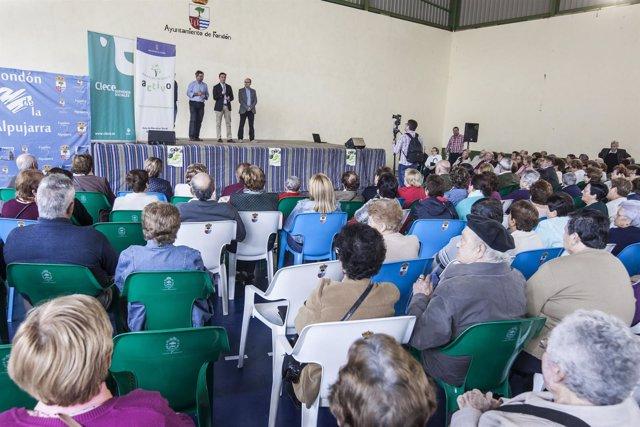 Unas 400 personas se concentran en la Jornada de Convivencia en Fondón.