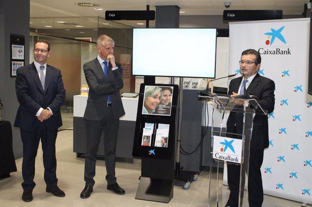 Ndp+Fotos: Caixabank Inaugura Una Oficina De Vanguardia Y Totalmente Digitalizad