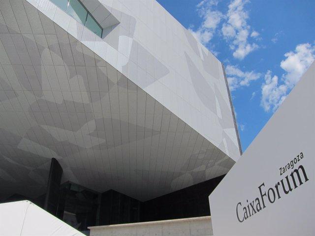 CaixaForum Zaragoza composición de cubos