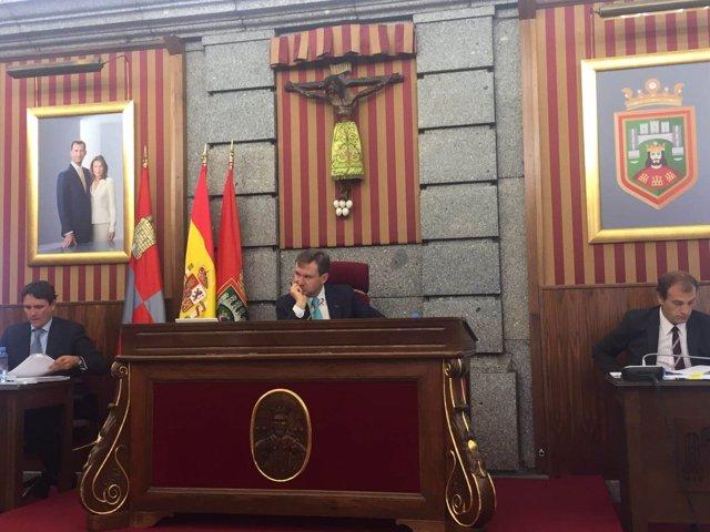 Pleno del Ayuntamiento de Burgos