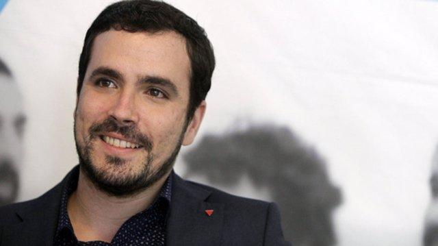 El diputado nacional por Unidos Podemos Alberto Garzón