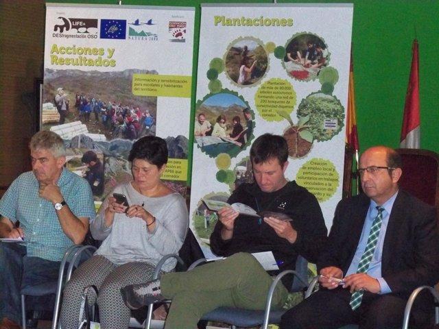 Encuentro participativo del proyecto Life en La Pola de Gordón
