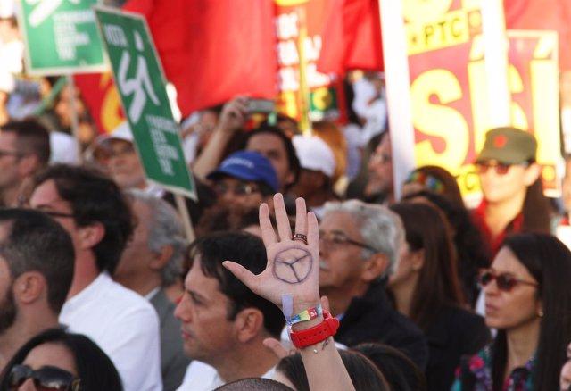 Acuerdo de paz celebrado en Bogotá