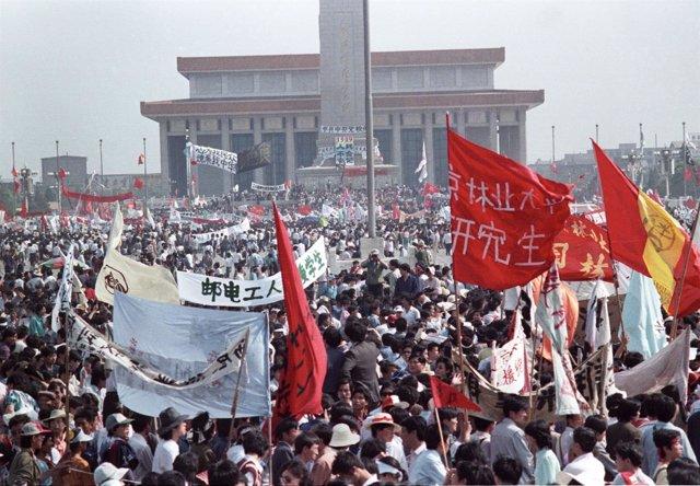 Protestas de 1989 en la Plaza de Tiananmen