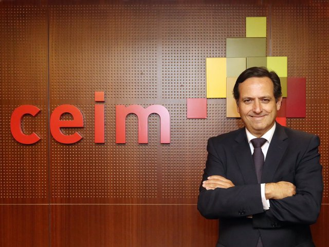 El presidente de CEIM, Juan Pablo Lázaro