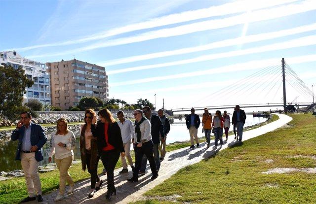 Ayto. De Fuengirola: Fotos Visita Secretaria De Estado De Turismo Al Parque Fluv
