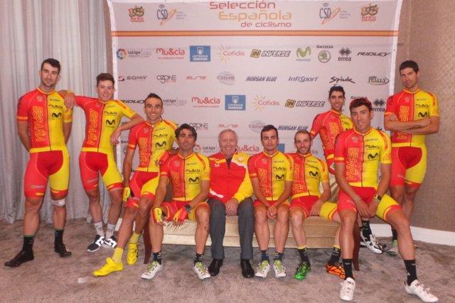 Javier Mínguez selección ciclismo Catar