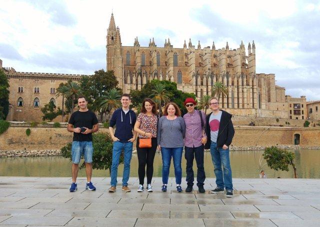 Instagramers británicos en Palma