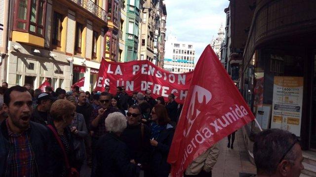 Manifestación contra el TTIP.