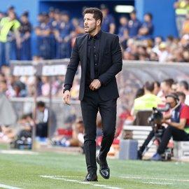 """Simeone: """"No hay mejor camino para mejorar que lo que está haciendo Carrasco"""""""