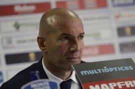 """Zidane: """"Para el rival es complicado cuando jugamos así"""""""