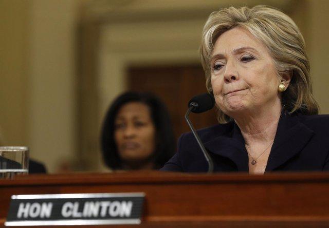 La ex secretaria de Estado Hillary Clinton