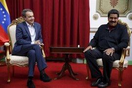 Maduro se reúne con Rodríguez Zapatero para tratar el proceso de diálogo en Venezuela