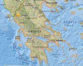 Registrado un terremoto de magnitud 5,2 en el noroeste de Grecia