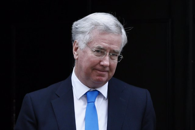 Michael Fallon, ministro de Defensa británico