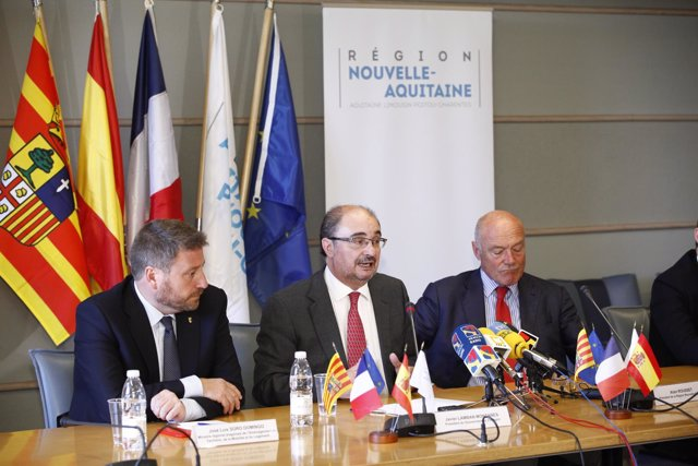 El Gobierno de Aragón lleva a Bruselas su apuesta por la reapertura de Canfranc.