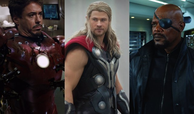Iron Man, Thor, Nick Furia